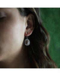 Todd Reed - White Fancy Diamond Drop Earrings - Lyst