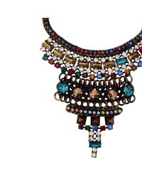Iosselliani | Multicolor Crystal Necklace | Lyst