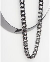 Lipsy | Metallic Torque Necklace | Lyst