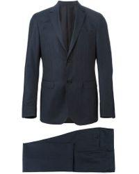Z Zegna - Blue Classic Two-piece Suit for Men - Lyst