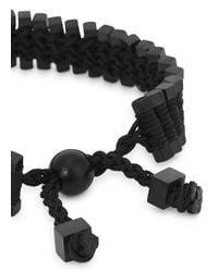 Vitaly | Arma Black Stainless Steel Link Bracelet for Men | Lyst