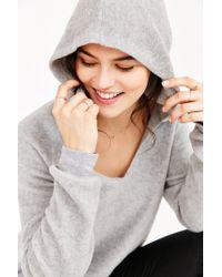Project Social T Gray So Fluffy Hoodie Sweatshirt
