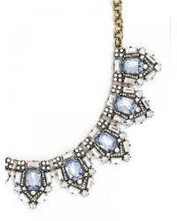 BaubleBar - Blue Aquamarine Cavalier Collar - Lyst