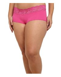 Cosabella | Pink Extended Size Never Say Never Cheekie Hotpant | Lyst