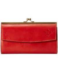 Patricia Nash | Red Dacia Frame Wallet | Lyst