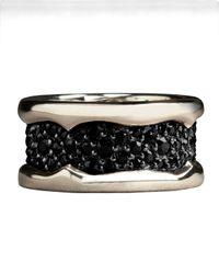 Stephen Webster | Metallic Black Sapphire Ring | Lyst