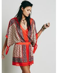 Free People | Multicolor Santa Cruz Dress | Lyst