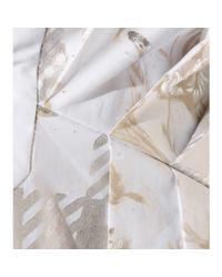 Roberto Cavalli - White Cotton Mini Dress - Lyst