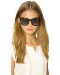 Jimmy Choo Brown Nuria Sunglasses