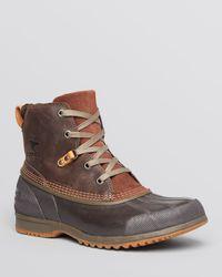 Sorel Brown Ankeny Waterproof Mid Boots for men
