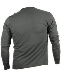 47 Brand - Gray Men'S Long-Sleeve Washington Bullets Flanker T-Shirt for Men - Lyst