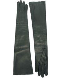Liska - Gray Long Gloves - Lyst