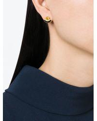 Iosselliani | Black 'all That Jewels' Earrings | Lyst