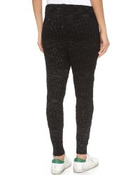 Free People | Road Trip Jogger Pants - Black Combo | Lyst