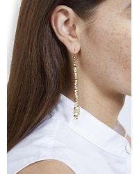 Alice Menter | Metallic Patti Drop Earrings | Lyst