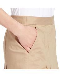 Ralph Lauren Golf - Natural Pleated Cotton-blend Skort - Lyst