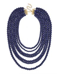 BaubleBar | Blue Bold Beaded Strands | Lyst