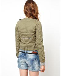 Pepe Jeans - Embellished Parka - Lyst