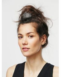 Free People Metallic Crown Bun Pin