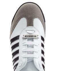 DSquared² - Black New Runner Sneaker for Men - Lyst