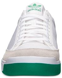 Adidas - Green Men'S Originals Rod Laver Casual Sneakers From Finish Line for Men - Lyst