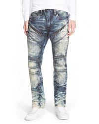 PRPS - Blue 'demon - Telescopium' Straight Leg Jeans for Men - Lyst