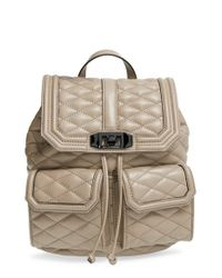 Rebecca Minkoff - Natural 'love' Backpack - Lyst