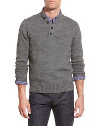 Bonobos | Gray Mock Neck Pullover Sweater for Men | Lyst
