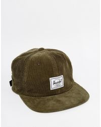 Herschel Supply Co. | Green Albert Cap for Men | Lyst