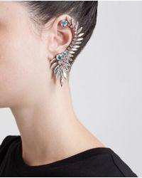 Ryan Storer - Multicolor Swarovski Crystal Ear Cuff - Lyst