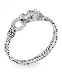 John Hardy | Metallic Naga Head Bracelet | Lyst