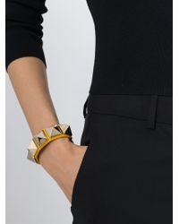 Valentino | Yellow 'rockstud' Bracelet | Lyst