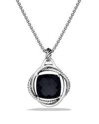 David Yurman - Infinity Pendant With Black Onyx - Lyst