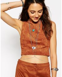 ASOS | Multicolor Multi Row California Body Harness | Lyst
