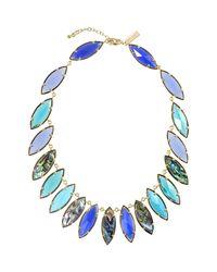 Kendra Scott - Blue Nalin Mixed-Stone Necklace - Lyst