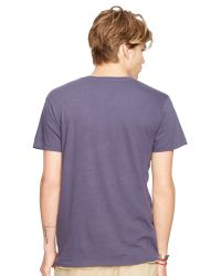 Denim & Supply Ralph Lauren Blue Logo Print T-shirt for men