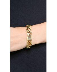 Luv Aj Metallic The Ombre Chain Bracelet  Ombre