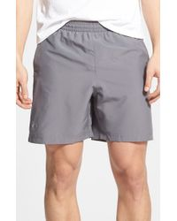 Under Armour | Gray 'launch' Heatgear Woven Running Shorts for Men | Lyst
