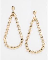 ASOS | Metallic After Party Teardrop Earrings | Lyst
