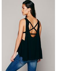Free People Black Free Swing Cami