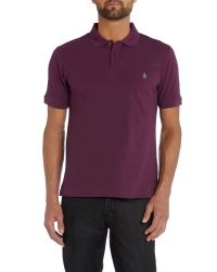 Original Penguin | Purple Slim Fit Daddy Polo Shirt for Men | Lyst
