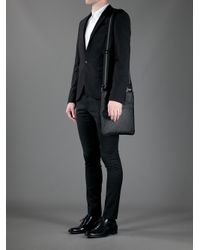 Fendi Black - Monogram Cross Body Bag - Men - Cotton/polyester/polyurethane - One Size for men