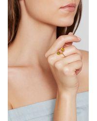 Pippa Small - Metallic 18-karat Gld Turmaline Ring - Lyst