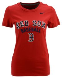 Nike Women's Boston Red Sox Practice T-shirt