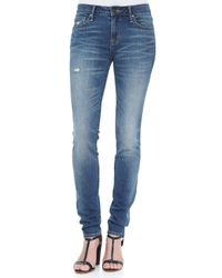 Marc By Marc Jacobs   White Gaia Super Skinny Jeans   Lyst