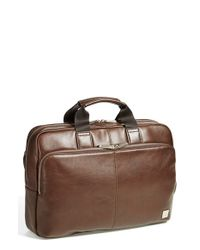 Knomo | Brown Newbury Briefcase for Men | Lyst