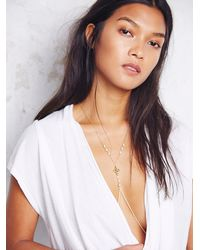 Free People - Metallic Serenity Body Chain - Lyst
