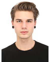 Givenchy - Black Magnetic Earrings - Lyst