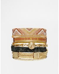 Hipanema | Brown Or Freindship Bracelet | Lyst