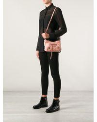 Balenciaga - Pink Mini 'hip' Shoulder Bag - Lyst